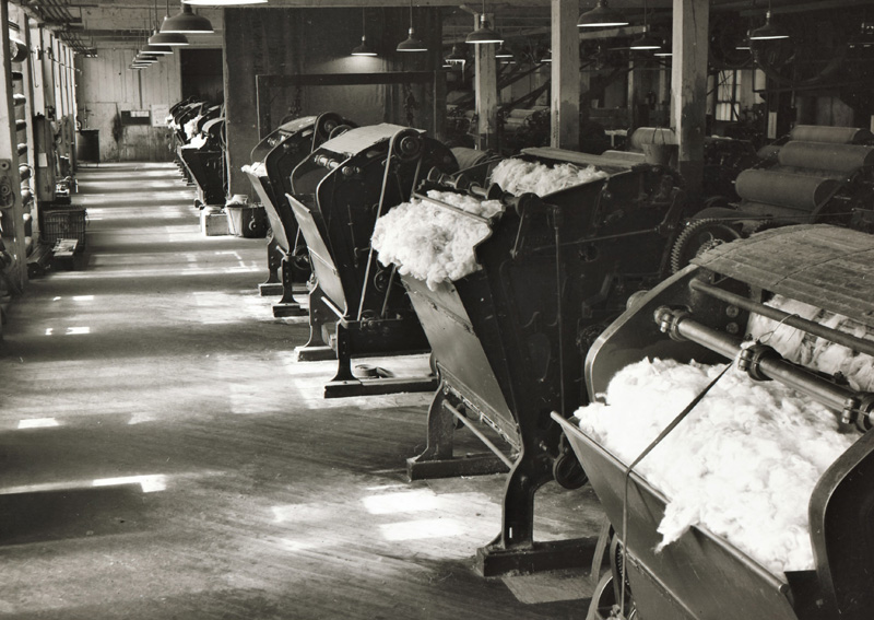 Worsted Top Manufacturing