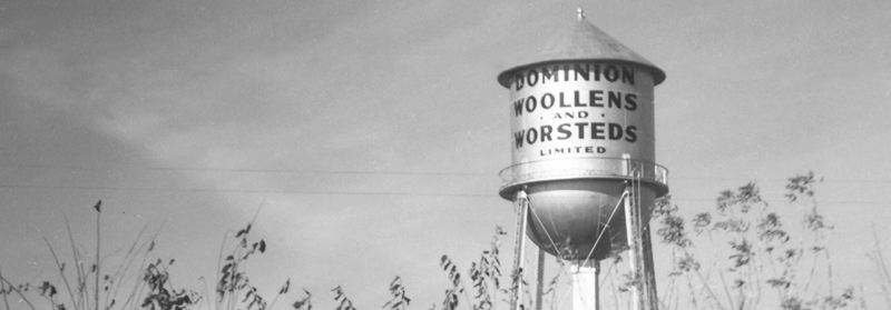 Hespeler's iconic D. W & W. water tower