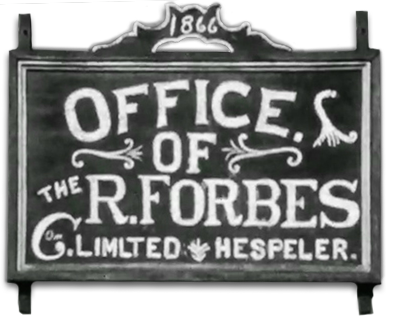 R. Forbes Co Outdoor Sign