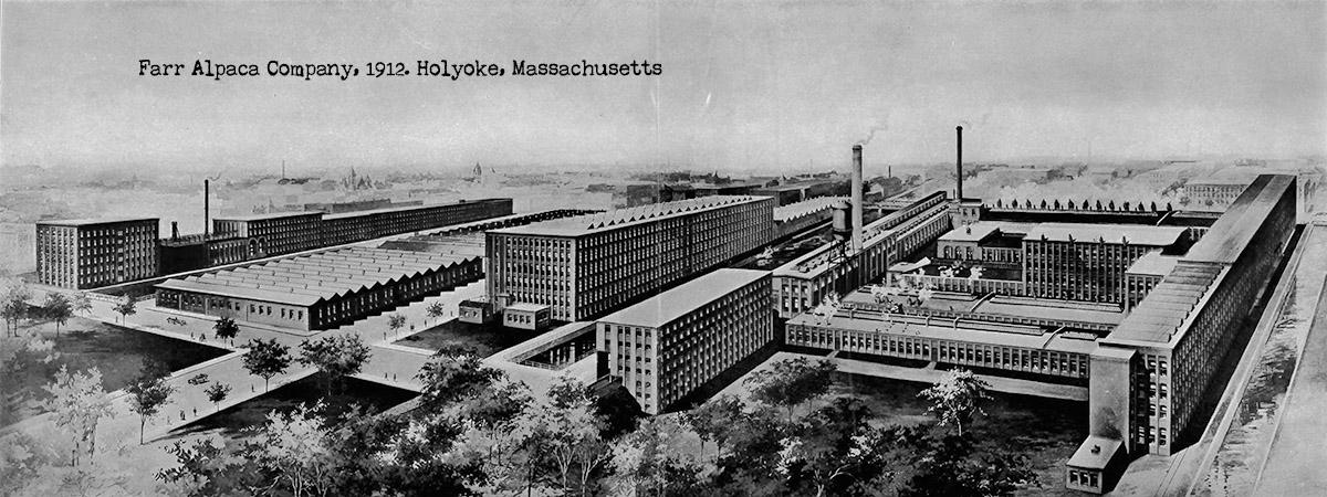 Farr Alpaca Company, 1912, Holyoke, Massachusetts